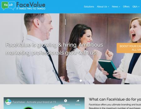 FaceValue: Branding & Business Development Automation